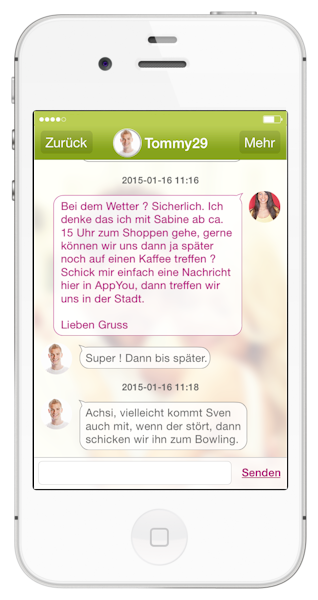 AppYou Dating-App Chat